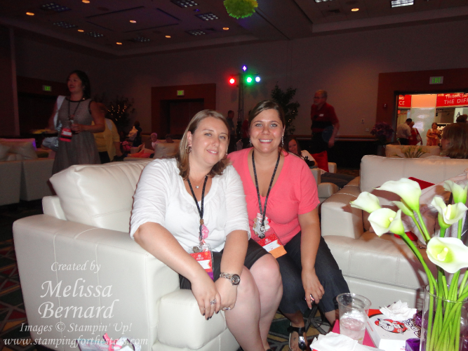 my friend Amanda & I enjoying the Recognition Room